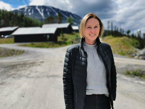 MOT TOPPEN: Beatrice Fjeldberg er ny daglig leder i Gaustatoppen Holding.
