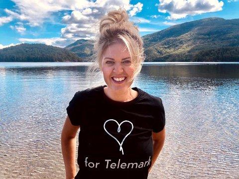 FORNØYD: Reiselivsdirektør i Visit Telemark, Anne-Hege Svartdal opplever en svært suksessrik sommersesong for Telemark.