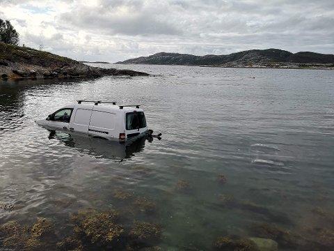 Brødrene fra Telemark fikk seg et lite sjokk når de kom tilbake fra fisketuren. Bildet er brukt etter tillatelse fra tv2.no Foto: TV2-tipser