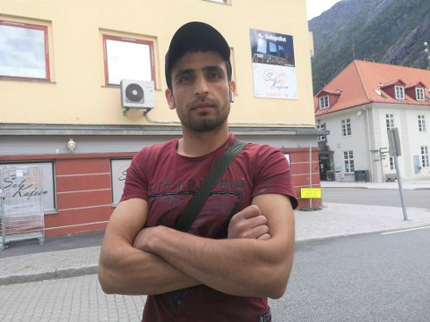 ÅPNER IGJEN: Mohamed Khelef Albedran har invitert Mattilsynet tilbake til Solkafeen for å vise at han har utført de påleggene han har fått.