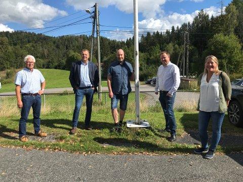 MARKERING: 5-6 millioner skal brukes på bredbåndsutbygging i Oklungen. Porsgrunn kommune har gått inn med 2,15 mill til prosjektet og fylkeskommunen med 1,25 millioner.
