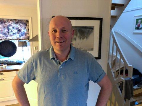 HEIER PÅ LIVET: Øyvind Haugen klarte jobben som lærer, men orket ikke mer som trener. Han ble deprimert og mistet alt av energi, men 45-åringen fant sin vei ut av koronakrisen. Foto: Privat