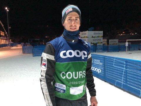 PÅ REISE: Tidligere langrennsløper Svein Halvor Dahl er på plass i Italia i forbindelse med Tour de Ski. Foto: Privat