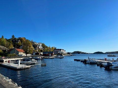 KONSESJON: Den aktuelle boligen ligger nær sjøen i Rørvik. Huset er ikke synlig på bildet.