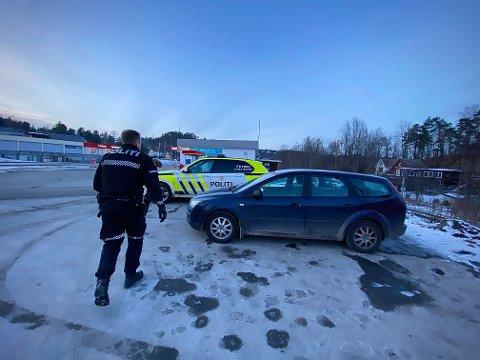 STANSET: Mannen fra Telemark ble stanset på Skjelsvik.