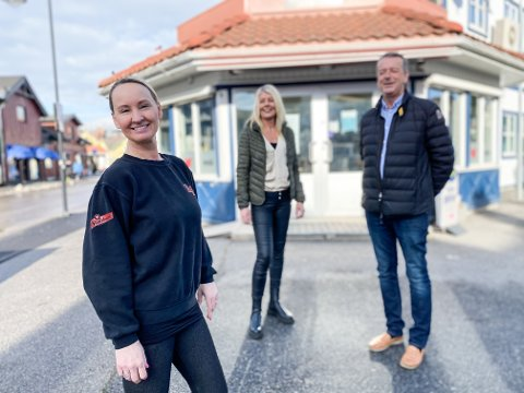 NY EIER: Linda Morena Bratsberg er ny eier av Perry Bar i Skien. Nå gir Wenche Andersen og Per Morten Edquist seg etter utallige år som drivere.