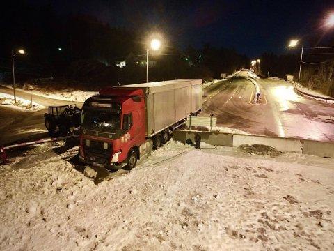 RAVET RUNDT: Den 54 år gamle mannen fra Litauen skal ha ravet rundt etter ulykken. Foto: Theo Aasland Valen