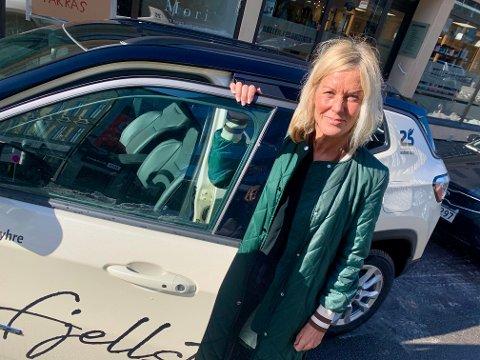 DAGLIG LEDER: Gyri Hoksrud Myhre pleide å selge hotellopphold for Nordic Choice. Nå skal hun selge hyttetomter på fjellet.