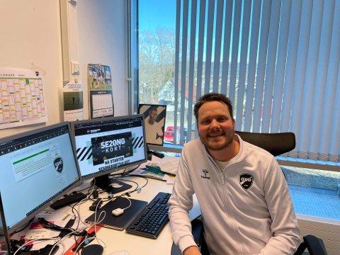 FORNØYD: Åmund Røsholt er strålende fornøyd med mer ansvar.