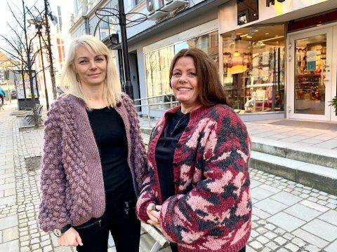 NYE KOSTER: Kari Anne Knutsen og Anniken Andersen overtar butikken etter Kjersti Lyngestad som har drevet kontinuerlig siden 1988.