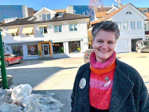 GLADMELDING: Gry Marie Grindbakken fikk gladmeldingen fra kulturrådet denne uken.