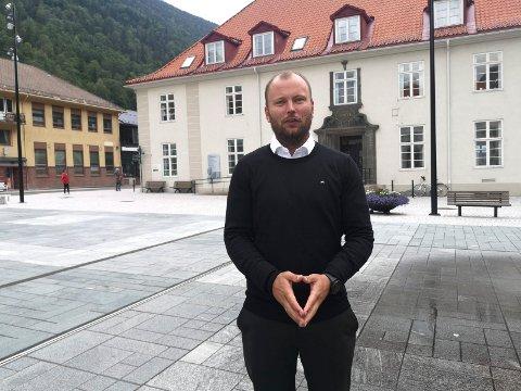 COMEBACK: Håvard Kleven gleder seg til å plukke opp trådene fra hans tidligere arbeid i visitRjukan. Nå er han salgssjef i nyetablerte Destinasjon Gausta.
