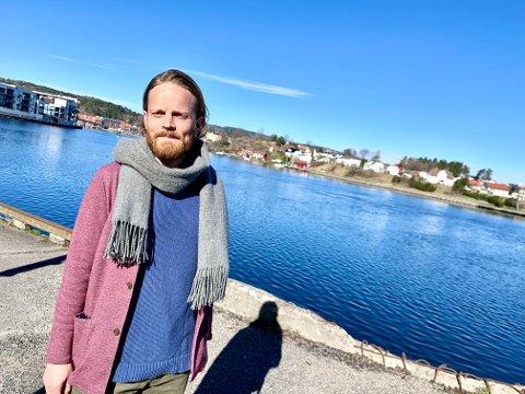 SPENT: Christian Svarstad, daglig leder hos Rose eiendom, jobber mot spennende prosjekter om dagen.