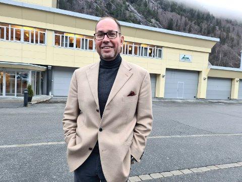 Olav Edland  - daglig leder i Tinn Energi Gruppen.- slutter i stillingen 1. mai 2021  (arkivfoto/Torfinn Skåttet)
