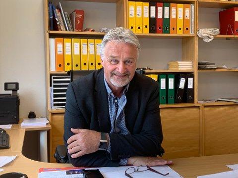 GIR SEG IKKE: Bernt Dahle er tilbake som ny leder i Drangedal næringsforening.
