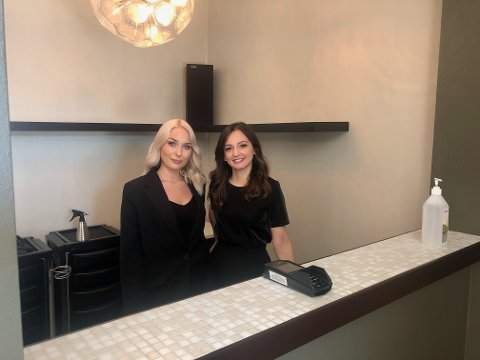 JETA: Jeta betyr livet, og er navnet på konseptet som har flytta inn i Nansetgata 30. Her står eier Shkurte Vokshi til høyre i bildet og kollega Sandra Mailund.