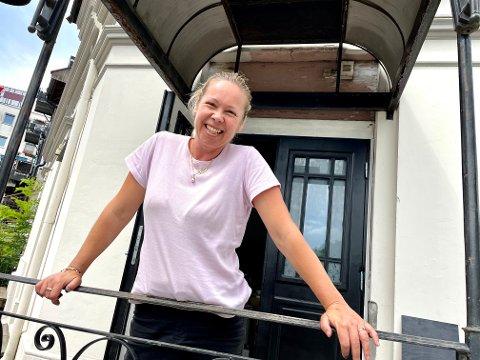 ÅPNER: Maria Kuhlin åpner dørene til Vindesign lørdag.