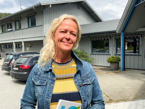NY RÅDMANN: Rikke Raknes har bare vært rådmann i Seljord kommune i to dager. Hun sier avtalen om sykehjemsplassen til 3700 kroner døgnet ble inngått fordi en annen avtale falt.