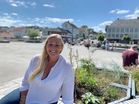NÆRINGSSJEF: Hege Cecilie Timm Bjørnerud melder om stadig økende interesse for Bamble-kysten og tilbudene som finnes her.