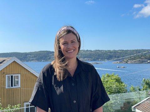 Veronica Westhrin har kommet tilbake til Kragerø og bosatt seg på Øya.