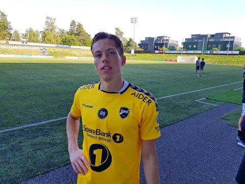 KLAR: - Jeg er klar hvis jeg får sjansen i eliteserien, sier Leopold Wahlstedt.