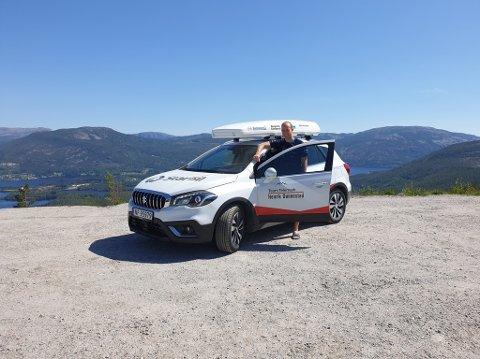 FINANSIERING: Henrik Dønnestad (25) søkte om hjelp til å fortsette satsingen i skisporet, og tilbakemeldingene har så langt vært gode.
