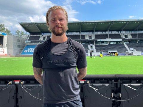 USIKKER: Sander Svendsen gir klare signaler på hva han selv ønsker når låneavtalen med Odd går ut om i overkant av en måned.