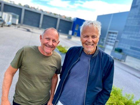 OM EGEN OPPVEKST: Tommy Sørbø og Lars Sørbø tar tak i egen oppvekst i sin nye forestilling.