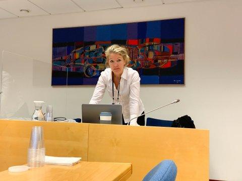 RETTENS AKTØRER: Politiadvokat og aktor Kristine Kruse.