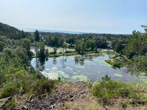 TAPPES: Begge de to dammene skal tappes for å utbedre dammen og fjerne uønskede arter og fisk.