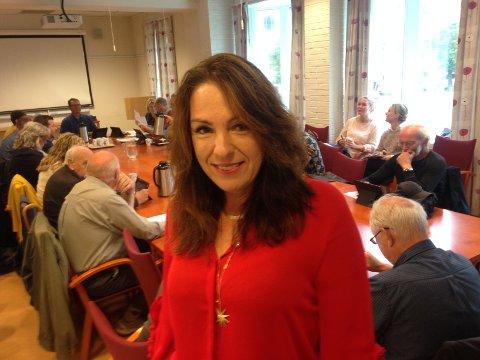 BUDSJETTFOKUSERT: Emilie Schäffer er opptatt av budsjettsituasjonen for Skien kommune.