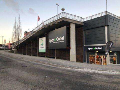 Sport Outlet i de gamle lokalene på Myren. Butikken holder nå til på Kjørbekk.