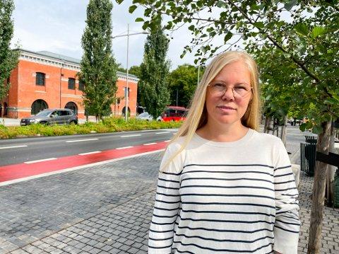 SETT GRENSER: Katrine Gaustad Pettersen mener den beste medisinen mot ungdom og alkohol, er foreldre som setter klare grenser.