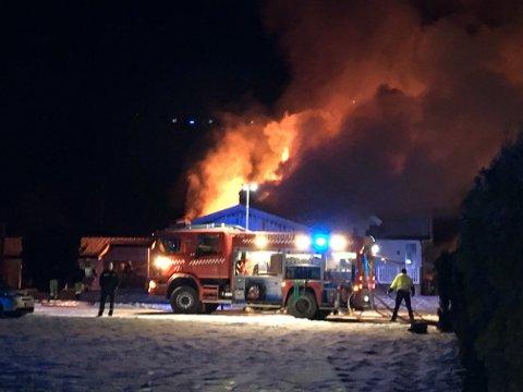 Brann i Rekaavegen