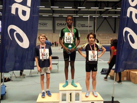 Markus Nesholen vant 600 meter og satte klubbrekord på distansen under BULs julestevne.