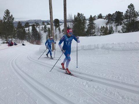 Hanna Kristine Larsen følte seg ikke overpigg i Alta i går.
