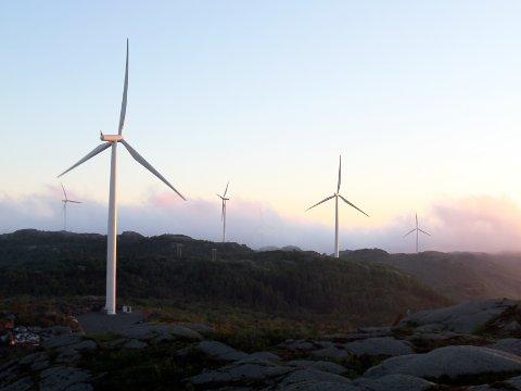 UTFORSKER MULIGHETENE: Norges vassdrags- og energidirektorat utformer nå et forslag over de mest egnede vindkraftsområdene i Norge.
