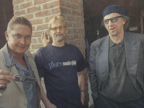 TØFT: Spoonful of Blues presenterer sitt nye tøffe lydbilde på Bellmann førstkommende lørdag.