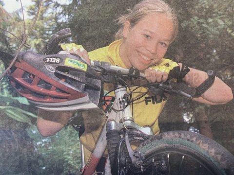 TIL FINLAND: Målfrid Ravnåsen deltar i nordisk mesterskap i terrengsykling neste helg.