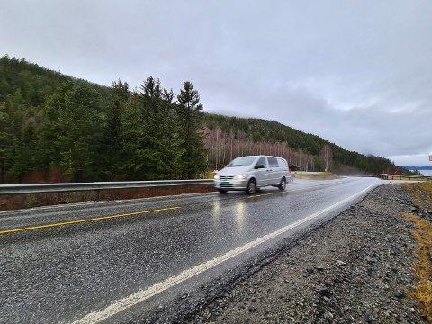 ØNSKET 60: Her forbi Gravtjønn og Torud gard ønsket Ole K. Waage at fartsgrensene ble satt ned fra 80 til 60 kilometer i timen.