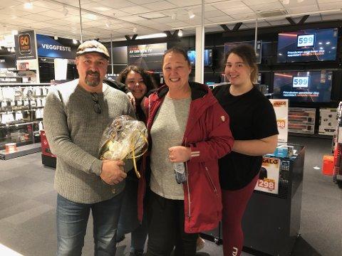 Familien Kalbekdalen laget en helt spesiell bursdag for Jarle som fyller 50 år i dag.