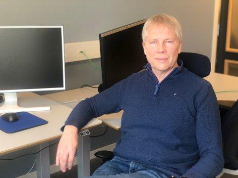 IKT-HELT: Daglig leder Oddvar Kaasa i Kongsbergregionen-IKT hjelper nå tusenvis av lærere og andre kommuneansatte med digitale tjenester.