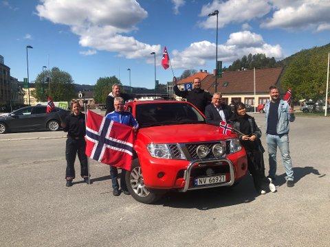 17.MAI-KLARE: Denne gjengen gleder seg til å lage 17.mai-stemning på Torvet og i distriktet vårt.
