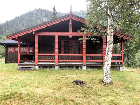 GOD PLASS: Hytta til Norsk Folkehjelp på Tjønnstul har ti sengeplasser, og fra hytta kan du gå flotte fjellturer, bade og fiske.