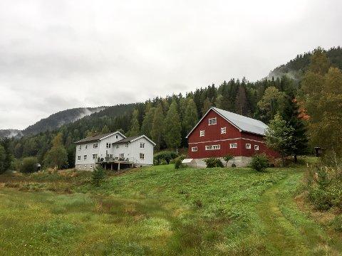 SOLGT: Miljødirektoratet har kjøpt Rugholt gård i Gransherad med tanke på makeskifte.