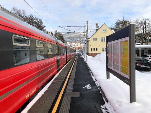 KOSTBART: Sterk subsidiering bør motivere lokalpolitikerne til å søke løsninger som kan sikre Bratsbergbanen for framtida. Nå lever den farlig...