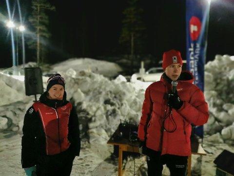 SPEAKER: Vebjørn Hovdejord har ikke gått mange skirenn i vinter, men speaker på skikarusellen har han vært.