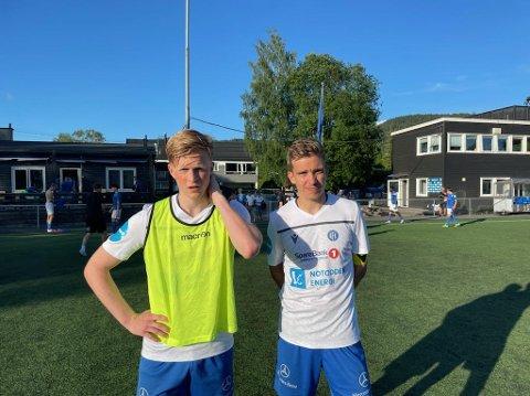 MÅLSCORERE: Jørgen Voilås og Henrik Gustavsen scoret begge mål for NFK torsdag mot Kjelsås. Allerede etter ti minutter var det 2-0 til NFK, men så snudde det.