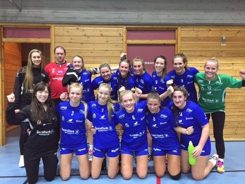 KHKs kvinnelag i 4. divisjon ble nummer to i årets serie.