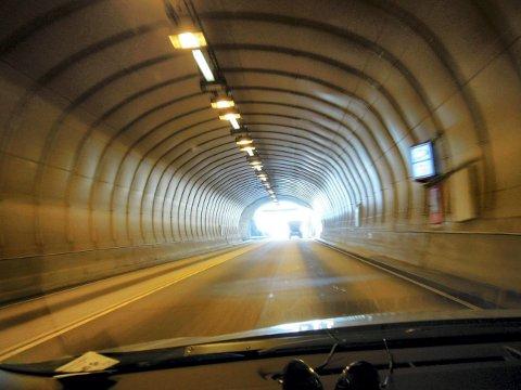 Freifjordtunnelen er utrustet med DAB-nett.
